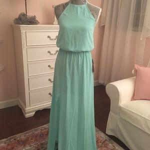 Show me your mumu!  Xx-small heather halter dress